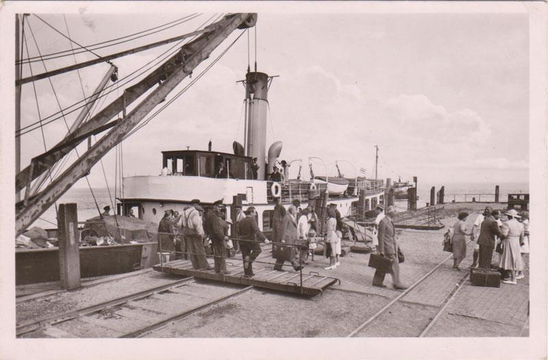 Ankunft am Hafen