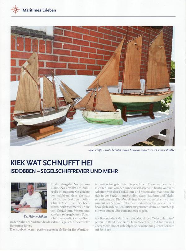 Isdobben, Segelschiffrevier und mehr