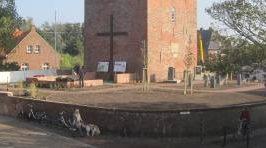 Panorama über den Walfängerfriedhof