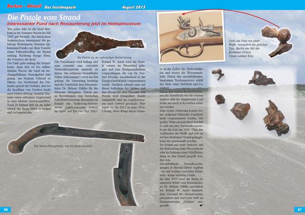 Die Pistole vom Strand
