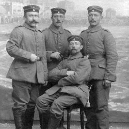 Soldaten im 1. WK