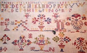 Stickerei von 1787
