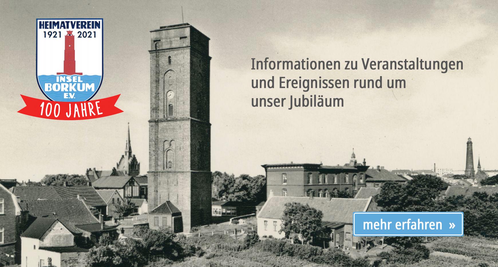 100 Jahre Heimatverein Borkum